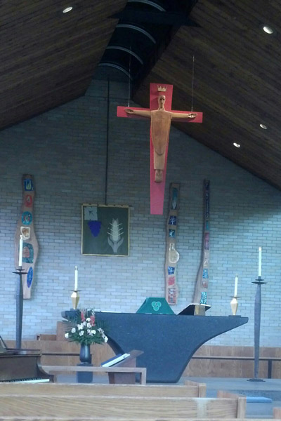 Worshipped at St. Thomas in the Woods Episcopal Church.