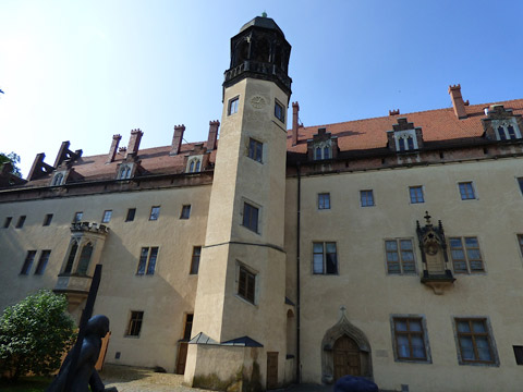 Augustinian Monastery and Luther's house.