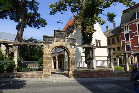 Home where Martin Luther was born.